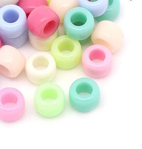 Db (300Unidades Perlas Cuentas Mixtas Decorativas divisores esparcidores 8x 6mm