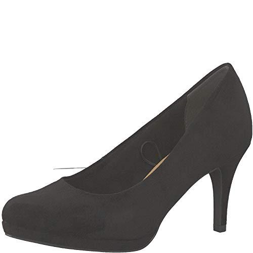 Tamaris Damen KlassischePumps 1-1-22464-32, Frauen Court-Shoes,Absatzschuhe,Abendschuhe,Stöckelschuhe,Touch-IT,Black,38 EU