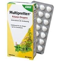 Multipretten Spar-Set 2x140 Kräuter-Dragees. Unterstützen die Verdauung. Wohltuend für den Magen. Gut bei Unwohlsein.Veraungsprobleme.Schnelle... preisvergleich bei billige-tabletten.eu