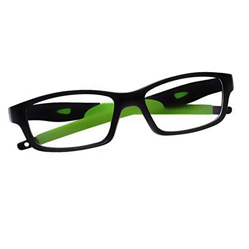 HPTAX-VB Spiegeln Brillen für Frauen und männer Retro/Vintage rechteck silikon Rahmen klare linse Brille Anti eyestrain uv400 Brillen