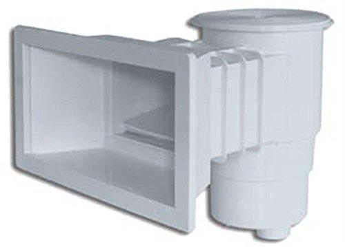 Productos QP Skimmer Standard Boca Larga 360 Abs Tapa Redonda, Negro, 49x57x45 cm, 500185