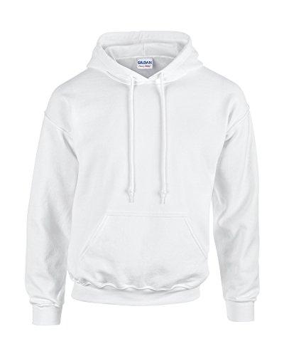Gildan Heavy Blend Kapuzenpullover (L) (Weiß) L,Weiß