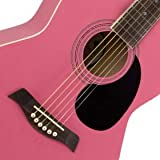 Tiger Music ACG2-PK - Kit de guitarra acústica, color rosa
