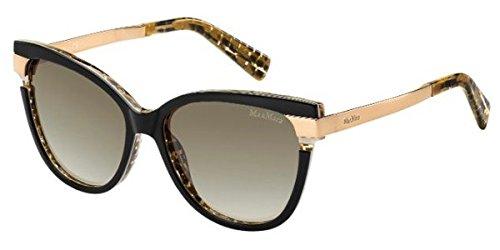 max-mara-strati-ii-s-occhiali-da-sole-colore-avorio-e-oro-56-16-135-0cj6-colore-nero