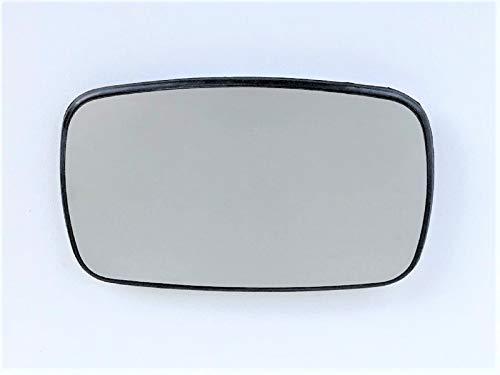 Miroir de verre droit pour Dacia Sandero à partir de 07//2007 Chauffable Convexe