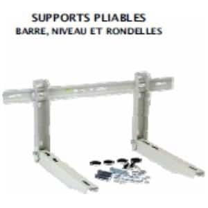 SUPPORT MUR PLIABLE 545MM BAR NIV LG 800 MM 140KG