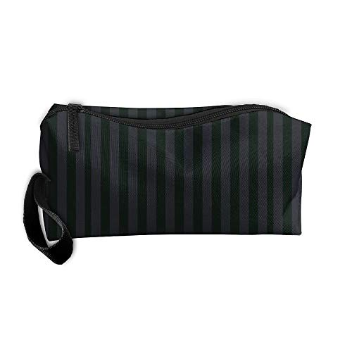 Black Grey Fuuny Makeup Bag Organizer Case Travel Cosmetic Bags Pencil Case -