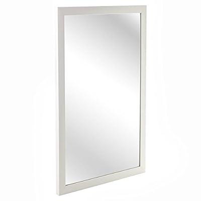Large Wall Mountable Hanging Mirror Rectangle Bedroom Hallway Bathroom Accessory - inexpensive UK light store.