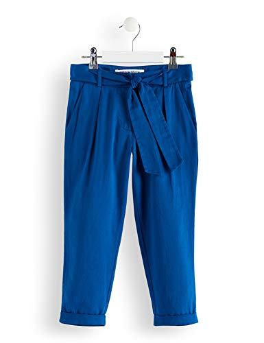 RED WAGON RED WAGON Mädchen Hose mit Gürtel und Schleife, Blau (Galaxi Blue), 104 (Herstellergröße: 4 Jahre)