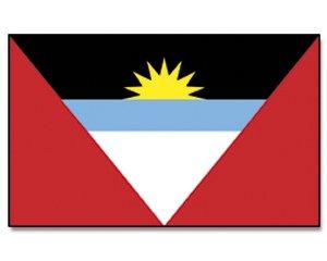 Outdoor - Hissflagge Antigua und Barbuda 90 * 150 cm Flagge