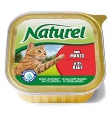 Paté alimento completo para gatos con buey 100 gr (Pack 16 tarrinas)