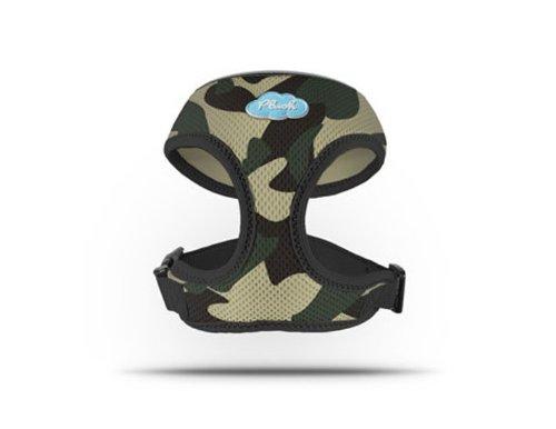CURLI Basic Harnais maille Air Camouflage Plush BA de Ca