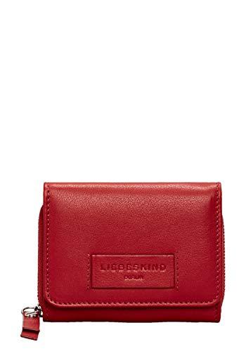 Liebeskind Berlin Damen Essential Pablita Wallet Medium Geldbörse Rot (Italian Red) 2x9x11 cm (Portemonnaie Damen Kleine Rote)