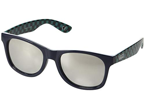 Vans Herren Spicoli 4 Shades Mirrored  Sonnenbrille, Mehrfarbig (Dress Blues-Quetzal), 50