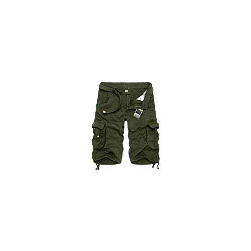 Mens Military Cargo New Army Camouflage Tactical Shorts Cotton Loose Work Pants Plus Size