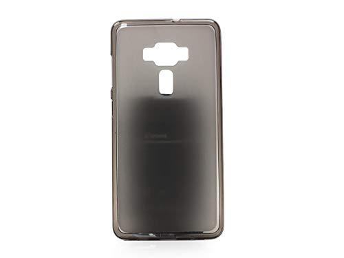 etuo Handyhülle für ASUS Zenfone 3 Deluxe (ZS570KL) - Hülle FLEXmat Case - Schwarz - Handyhülle Schutzhülle Etui Case Cover Tasche für Handy