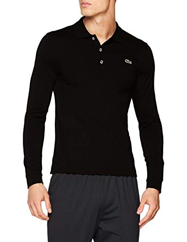 Lacoste Herren Yh9521 Poloshirt, Schwarz (Black 031), Medium (Herstellergröße: 4) - Lacoste Klassisches Polo-shirt