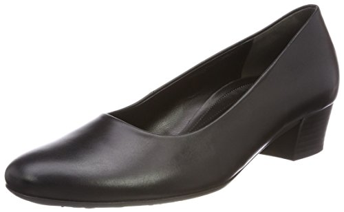 Gabor Shoes Damen Comfort Fashion Pumps, Schwarz (Schwarz), 39 EU