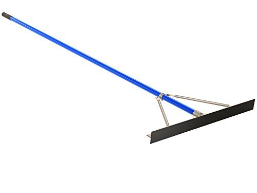Bon 22-246 36-Inch Smooth Asphalt Lute Rake with 8-Foot Handle by BON -