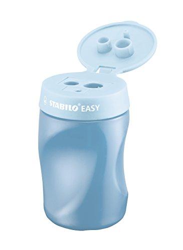 Stabilo easy temperamatite azzurro per destrimani