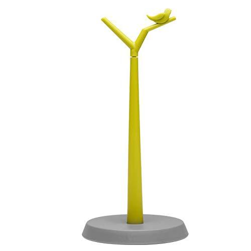 Duyt rotolo di carta da cucina da appoggio piedi portatovaglioli–tipo verticale a forma di albero, con base pesante–design moderno semplicità, easy-tear 34* 16cm