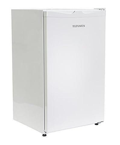 Telefunken CF-33-100-W Kühlschrank / A+ / 82.1 cm / 113 kWh/Jahr / 88 L Kühlteil / Türanschlag wechselbar / Höhenverstellbare