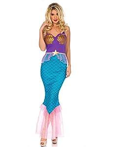 WONDERLAND-W5040703101 Mujer, multicolor, Large (EUR 42-44) (Leg Avenue Inc. W5040703101)