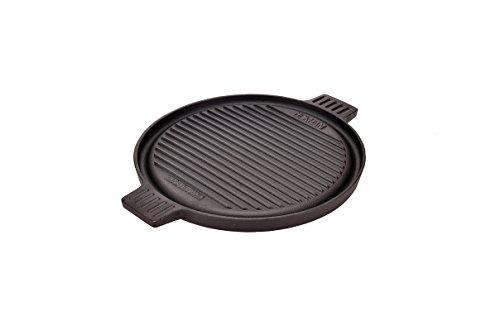 Grillplatte Rund 30cm OCI-BPR-D BBQ Plate Round 30cm Gusseisengrillplatte massiv, rund, Kochplatte - Runde Grillplatte