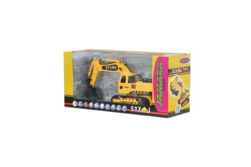 RC Auto kaufen Kettenfahrzeug Bild 4: Jamara 403775 - RC Bagger 517J 1:27 4 2 Kanal inklusive Fernsteuerung*