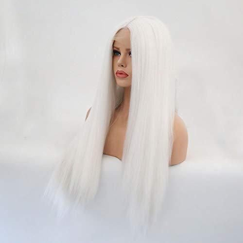 YYALL Perücke Mode Damen Synthetischer Langer Farbverlauf Gerade Natürliche Haar volle Perücken,24inches