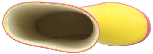 Bergstein Bn Colorbooty, Bottes en caoutchouc de hauteur moyenne, doublure froide mixte enfant Jaune - Jaune