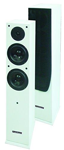 Madison mad-65wh par de altavoces Hi-Fi 120W blanco