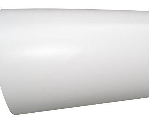 AERZETIX: 152/75cm Pelicula adhesiva vinilo blanco mate termoformable revestimiento de exterior interior C17231