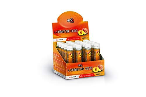 Pure Nutrition L CARNITIN Ampullen Hochdosiert 2000 mg Carnipure Liquid 20x25ml|Abnehmen Fettverbrennung Fatburner Definitionsphase Slimmin Diät|Flüssig L-Carnitin Deutsche Qualität|Vegan Bio