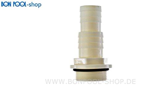 BON pISCINE réducteur embout avec filetage 1/32 x 38 cm