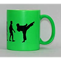 S.B.J Sportland hochwertige Premium Keramik Tasse Evolution Aikido