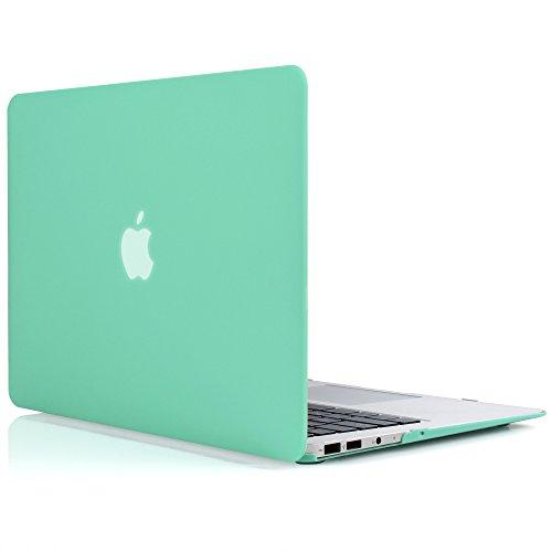 iDOO Custodia Rigida Rivestita in Gomma Satinata Opaca [Per MacBook Air 13: A1369 / A1466] (Custodia Protettiva In Gomma)
