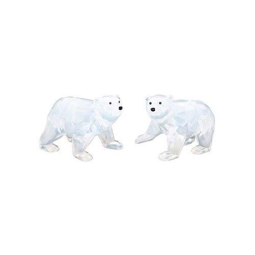 Swarovski Junge Eisbaeren, White Opal SCS Polar Bear Cubs 1080774 AP2011