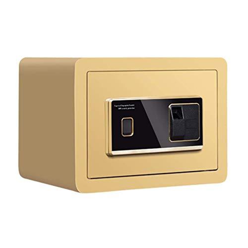 NZ-Safes Kabinett-Tresore Sicheres Zuhause Kleiner unsichtbarer sicherer Fingerabdruckkennwort 25cm cm Home-Office-Safe Diebstahlschutzwand elektronischer Mini-Safe