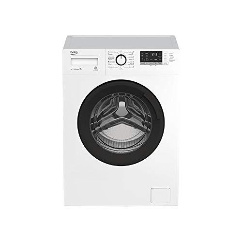 beko wta 7612 xsw - lavadora (independiente, carga frontal, 7 kg, b, 75 db, 1200 rpm)