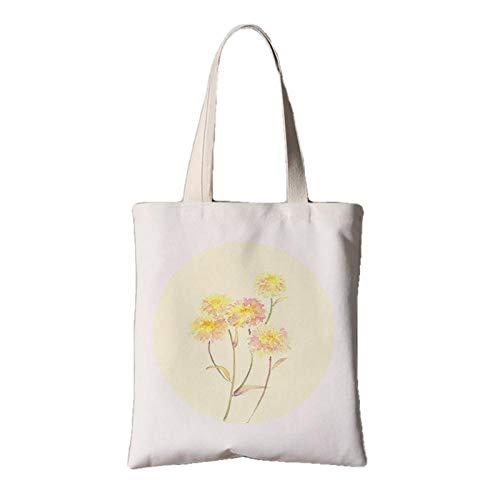 fonxoy-Storage bag Strandtasche, Reisetasche, Einkaufstasche, Schultertasche Mit Reißverschluss Fürvintage Chinesische Feng Shui Stofftasche Weibliche Schulter Tragbare Einkaufstasche