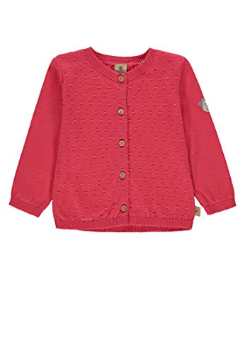 bellybutton-mother-nature-me Strickjacke Feinstrick Mädchen Rouge red,68