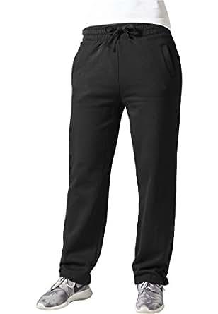 URBAN CLASSICS Ladies Sweatpants TB078 black XS