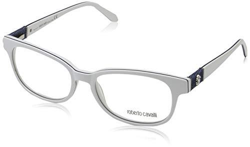 Roberto Cavalli Brillengestelle (Roberto Cavalli Damen RC0689 024-54-17-140 Brillengestelle, Weiß, 54)