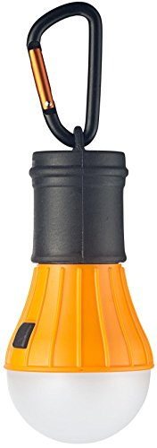 AceCamp Campinglampe LED Zeltlampe inkl. Batterien wetterfest leicht mit Karabiner