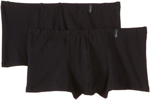 Skiny Herren Boxershorts 2er Pack 086975,Medium, Schwarz (7665 BLACK)
