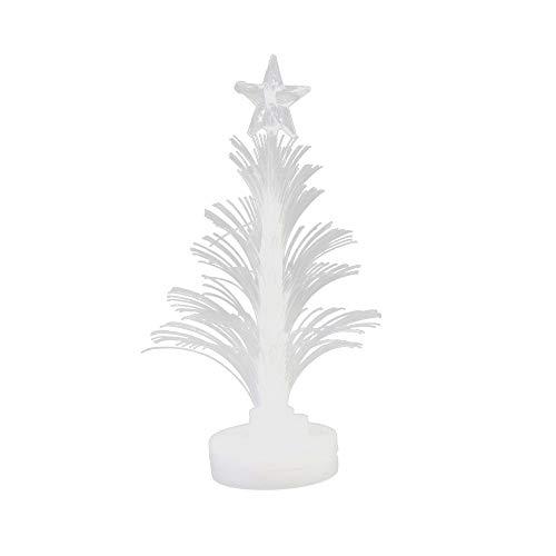 HROIJSL LED Buntes Blinkendes Weihnachtsbaum Nachtlicht Frohe LED Farbwechsel Mini Weihnachten Weihnachtsbaum Home Table Party Decor Charme Bunt LED Lichterkette Lampion -
