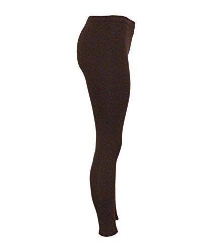 SiYang Clothes Damen Formende Leggings Braun
