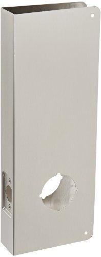 Don-Jo 14-CW 22 Gauge Stainless Steel Classic Wrap-Around Plate, Satin Stainless Steel Finish, 5