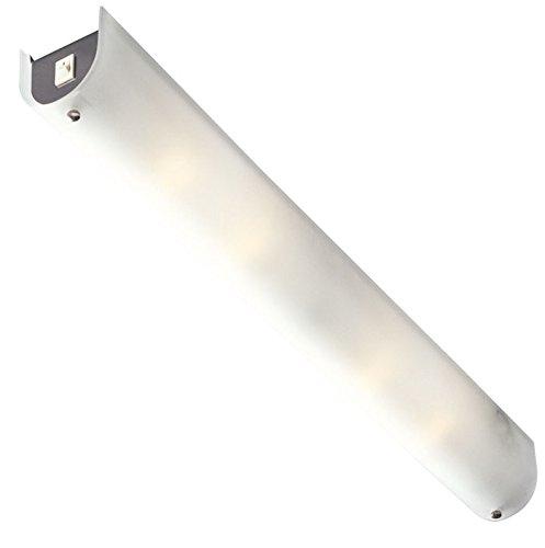 Globo 4102Spiegel-Lampe, satiniertes Glas mit Chrom